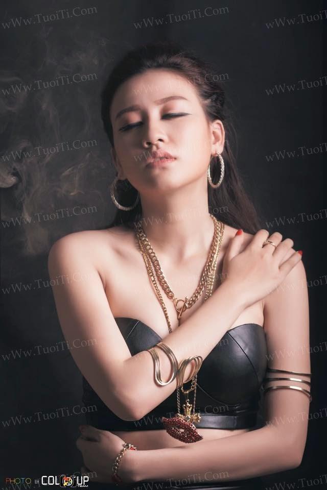 gái xinh Thiên Trang Doly răng khểnh vú to 19
