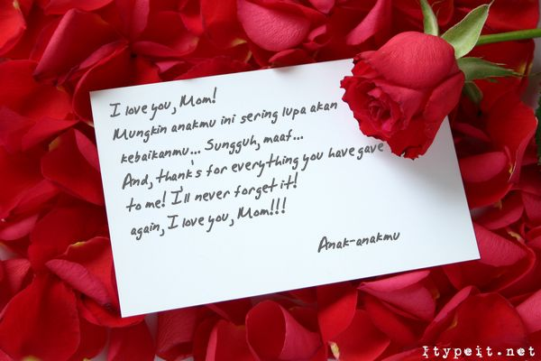 Contoh Surat Cinta Romantis Ilmu Internet