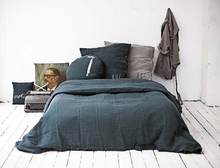 Bed Linen Ideas Part - 16: She Created A Small Boutique Named U201cBed U0026 Philosophyu201d Where She Designs A  Beautiful Bed Linen ...