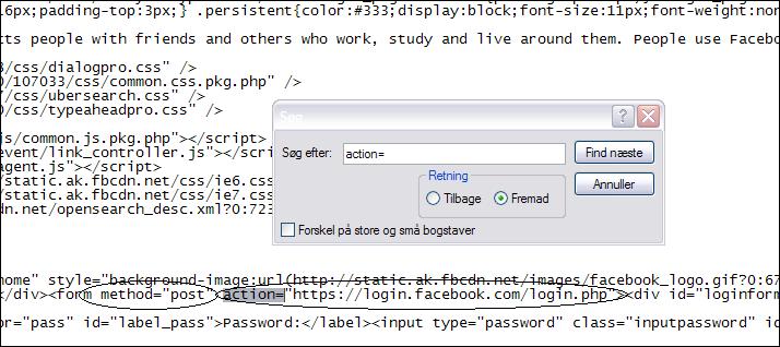 Facebook Hacking PROGRAMING language edit Screen1pf8