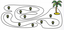задача олимпиады Кенгуру по математике для 3-4 класса