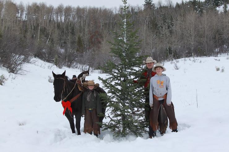 Cam, Cole, & Cache Christmas 2010
