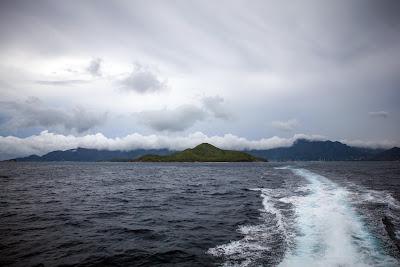 Die Fahrt von Mahé nach Praslin