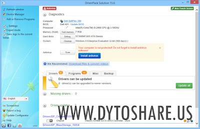 DriverPack Solution 15.6 Terbaru