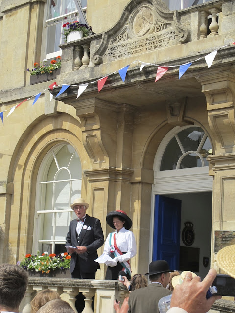 The Great 1913 Suffragist Pilgrimage tribute at Corsham Wiltshire