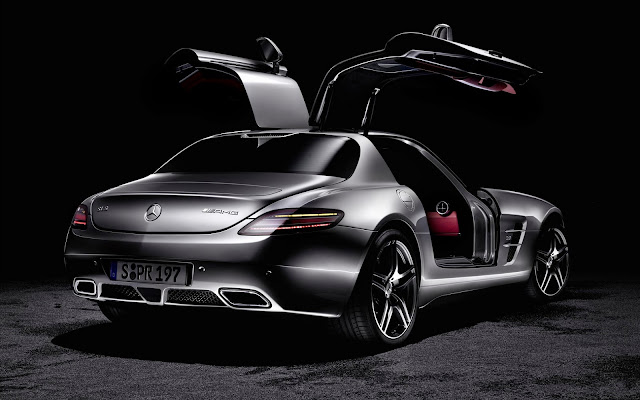 1521-Mercedes AMG SLS Car HD Wallpaperz