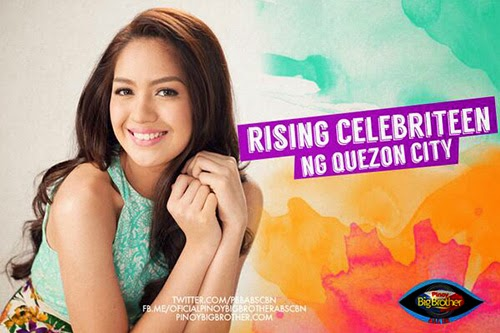 Jane Oineza is the Rising Celebriteen ng Quezon City housemate of Pinoy Big Brother's PBB:All In season 5