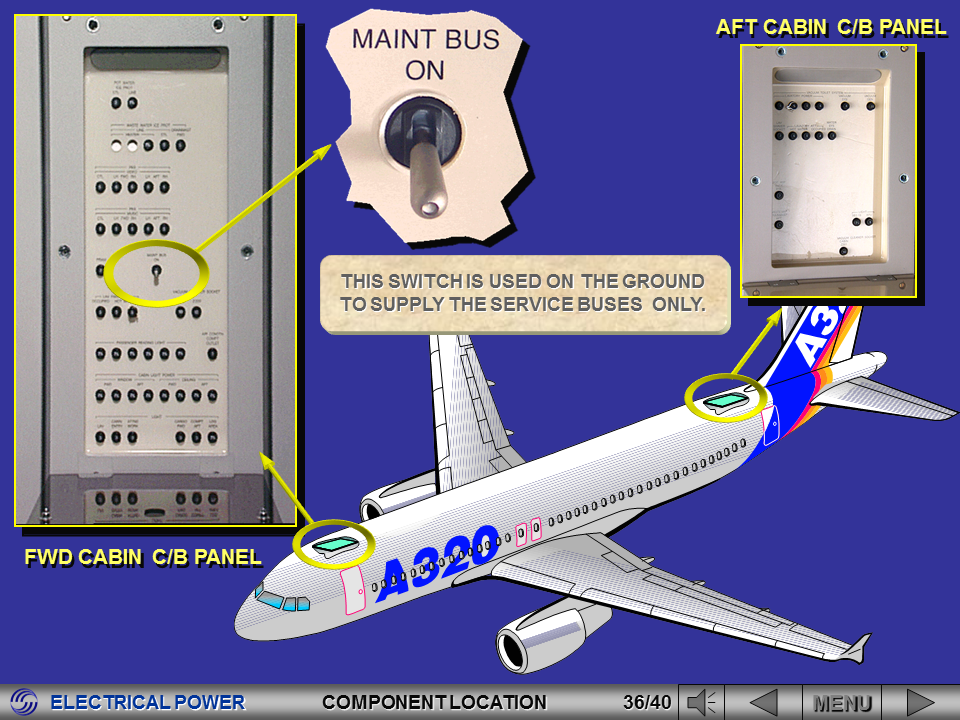 Electric Current Locator : Aviation legislation airbus a series electrical system