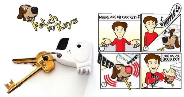 Fetch My Keys Key Ring
