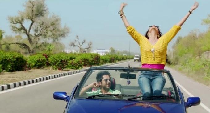 Sonam Kapoor ass show in car