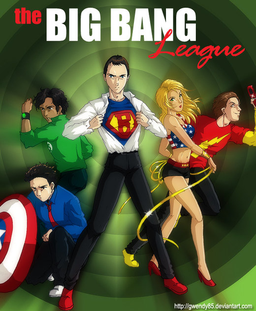 The Big Bang League por gwendy85