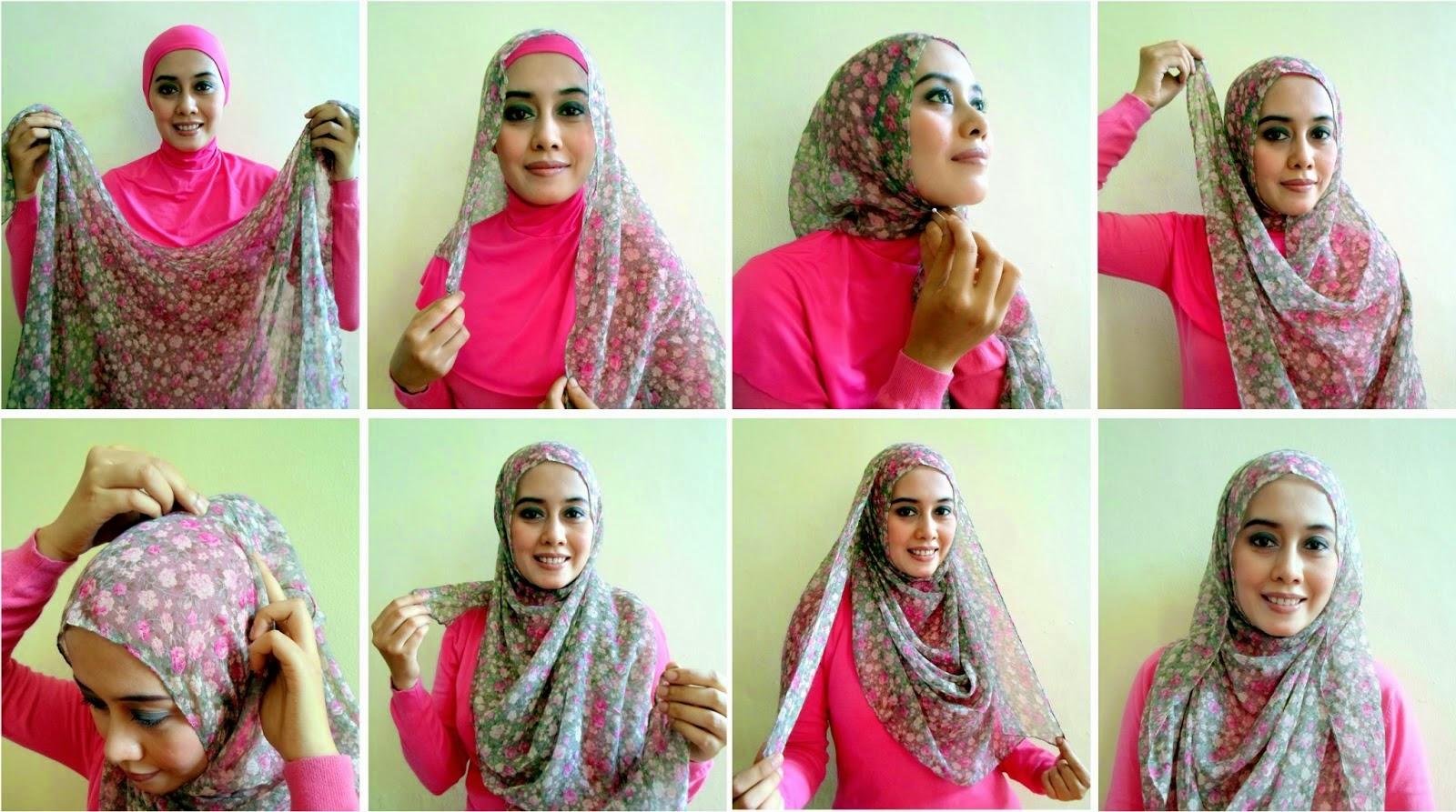 Cara Memakai Hijab Modern Terbaru