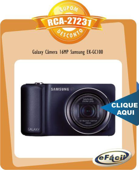 Galaxy Câmera 16MP Samsung EK-GC100