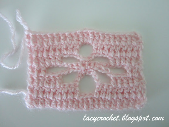 spider stitch crochet pattern