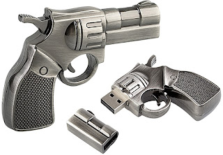 Cool Metal Gun Usb pen drive