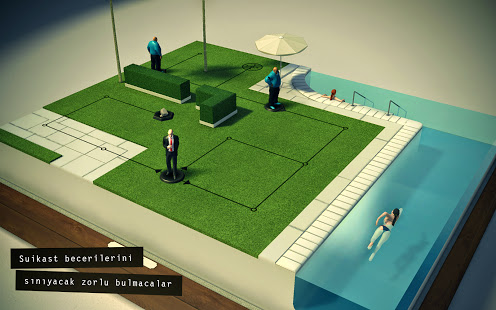 Hitman GO Apk Data Android İndir