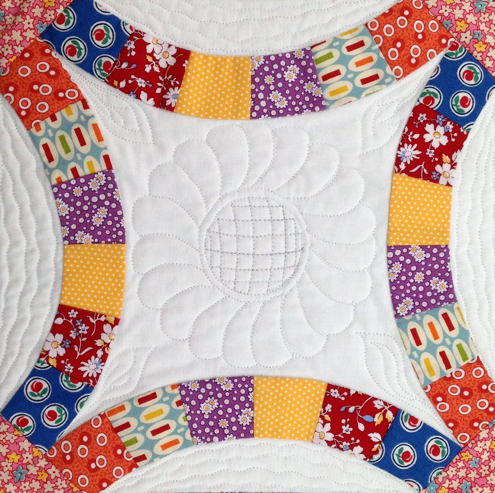 "Wedding Ring Quilts: Starwood Quilter: ""The Wedding Ring Quilt"""