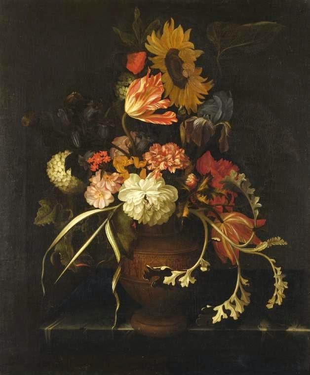 Gerrit Pietersz - nature morte aux fleurs