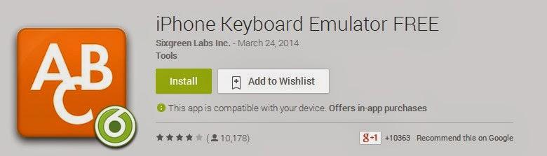 cara mengganti keyboar android seperti iphone