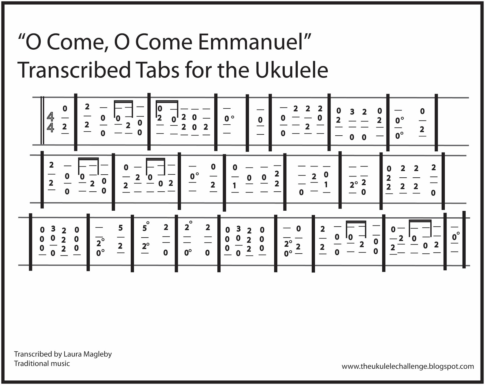 The ukulele challenge january 2016 i hope you enjoy playing good christian men rejoice for the ukulele as much as i have thanks for following the ukulele challenge at hexwebz Gallery