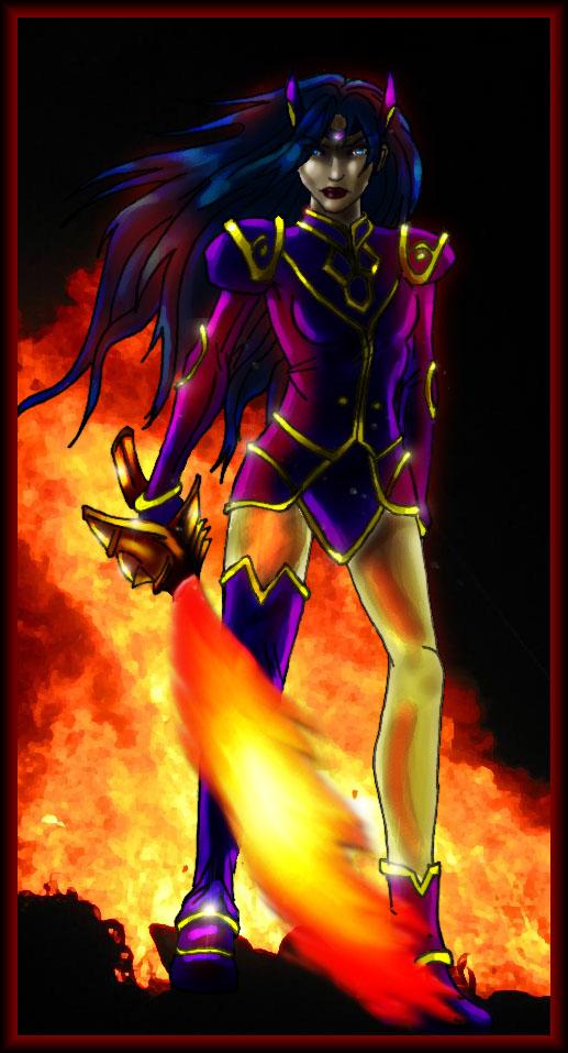 The Black Monster por PaintFairy