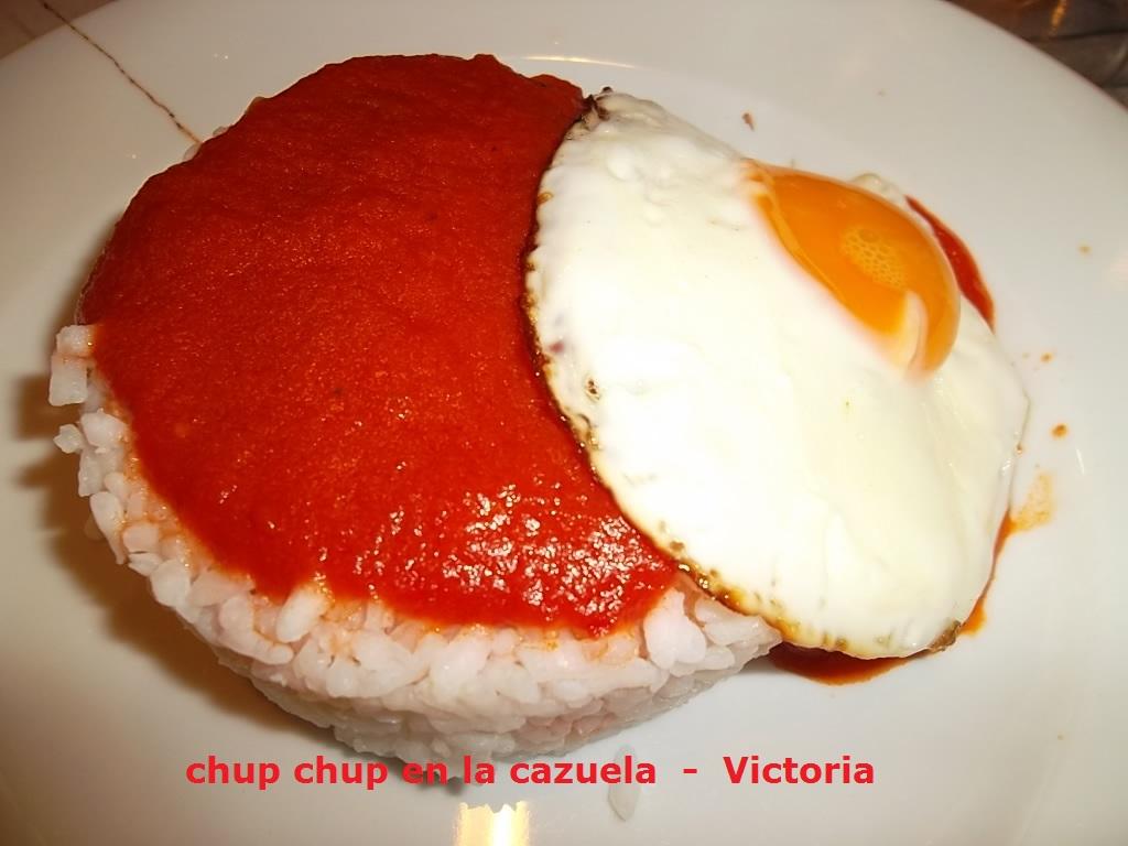 Chup chup en la cazuela arroz a la cubana - Calorias arroz a la cubana ...