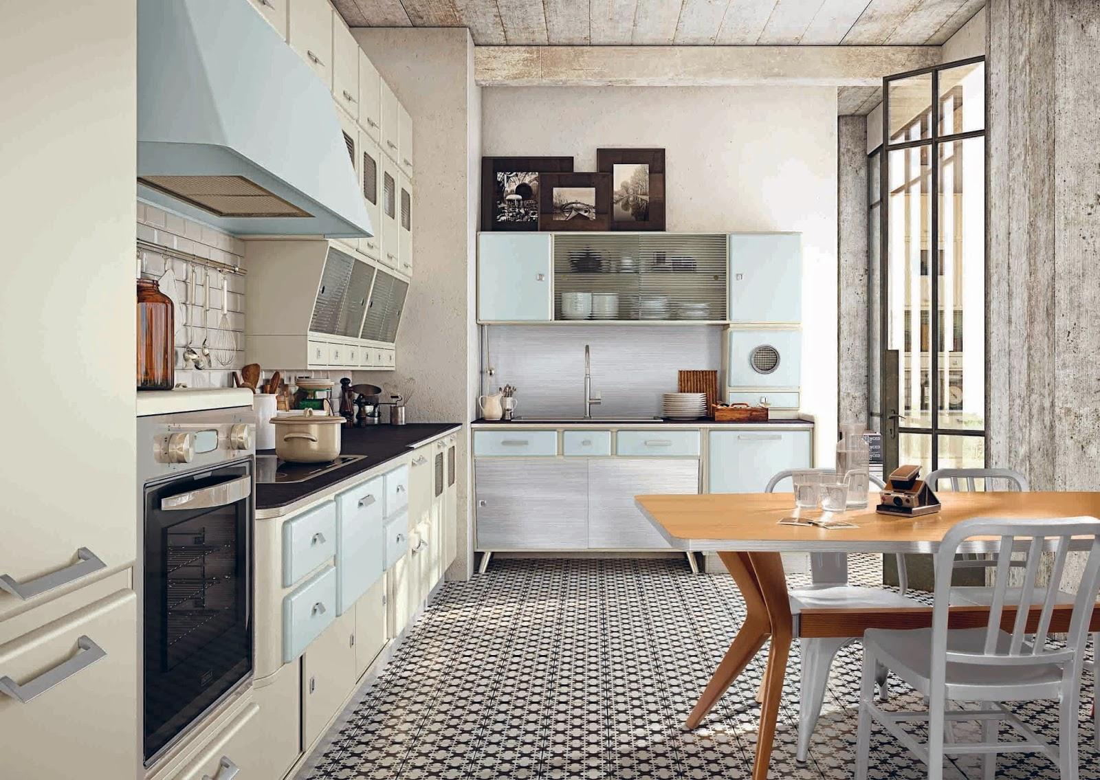 Vintage style in cucina | Vintage Blackboard | Valentina Ciprian