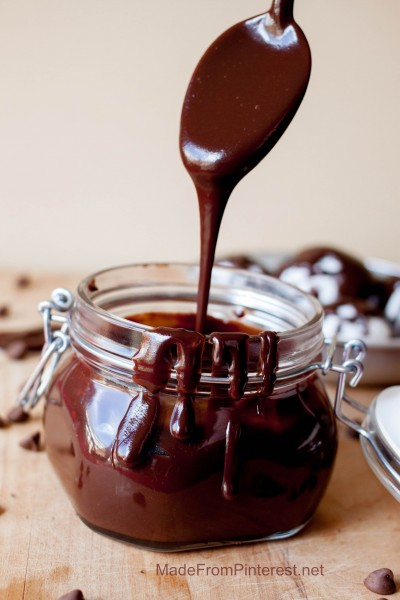 Chocolate Sauce | Made From Pinterest