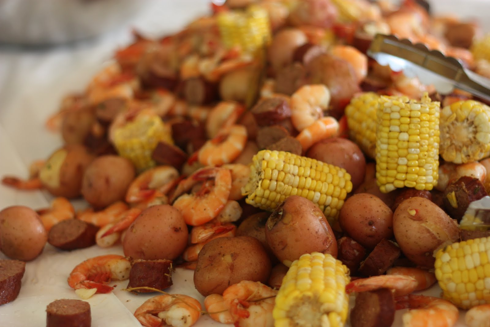 Shrimp Boil With Corn And Potatoes Recipes — Dishmaps