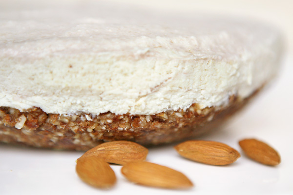 RAW Banana Coconut Cashew Cake