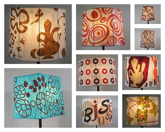 P nk point donosim niz ideja za homemade sjenila za lampe for Make paper mache lamp shade