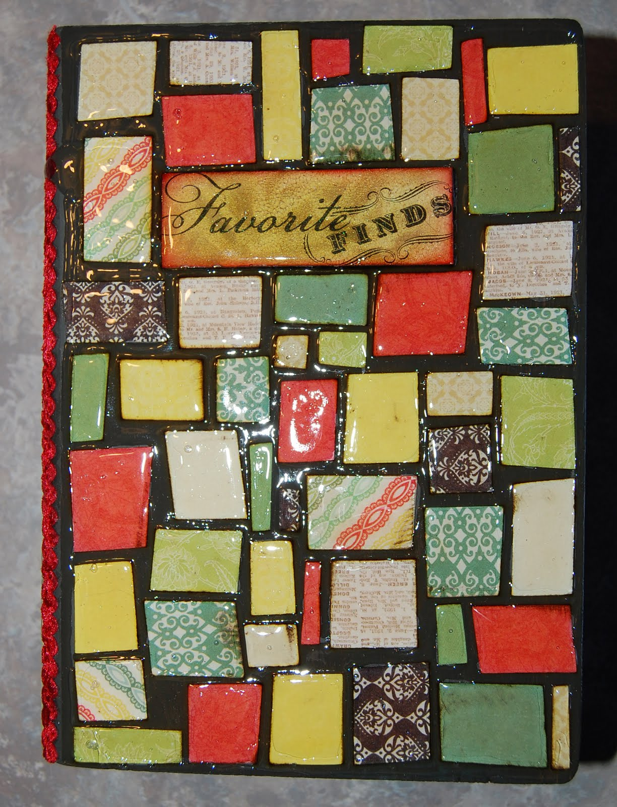 Remember The Mosaic Card I Posted Here A Few Days Ago Well This Is Original Project That Had Cut All Those Pieces For