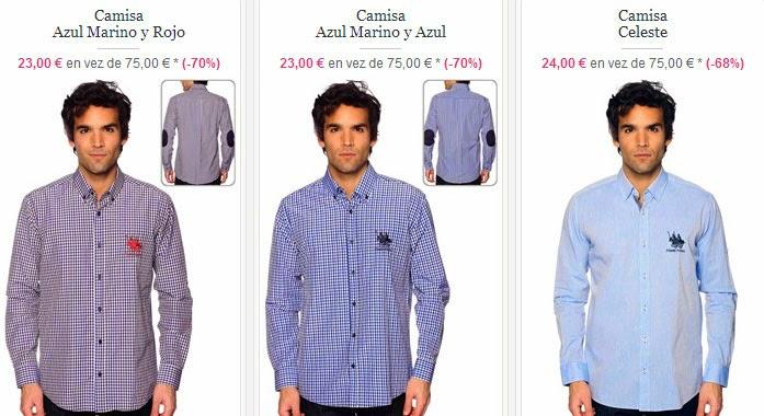 Camisas de manga larga Frank Ferry, PVP 23 euros