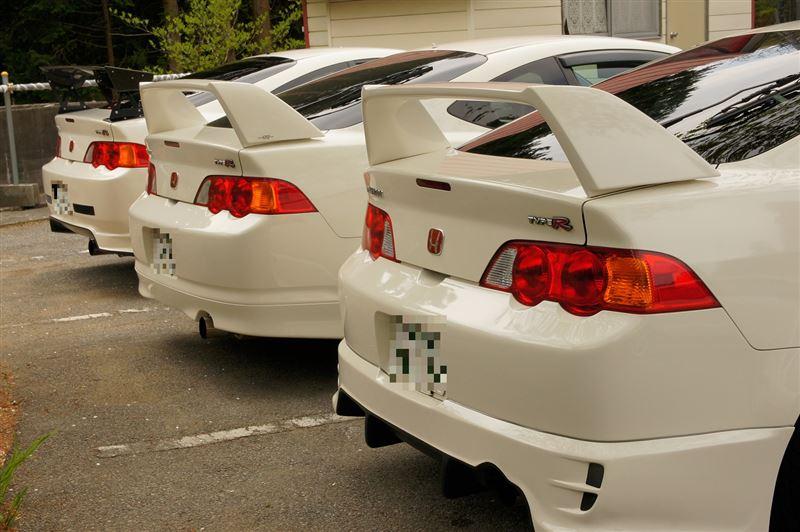 Honda Integra DC5 Type R, VTEC is kicking in yo, typowa Honda, ciekawe usportowione samochody
