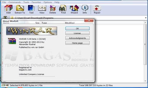 WinRAR 5.00 Beta 1 Full Keygen 2