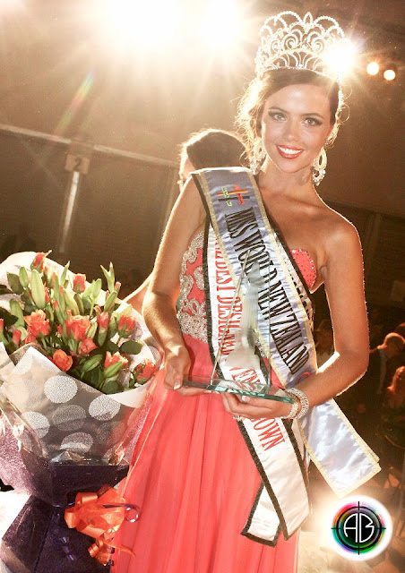 Miss World New Zealand 2013 Ella Liliane Langsford