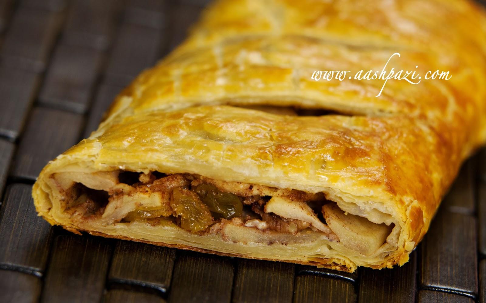 Apple Strudel Recipe | aashpazi