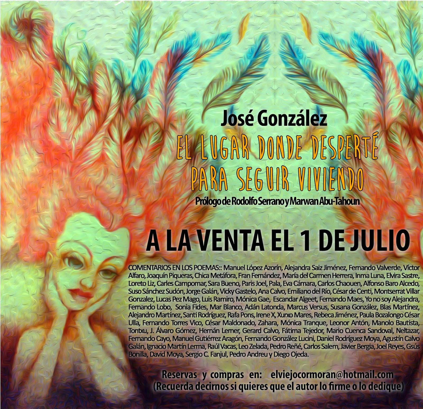 Ya a la venta el libro de José González