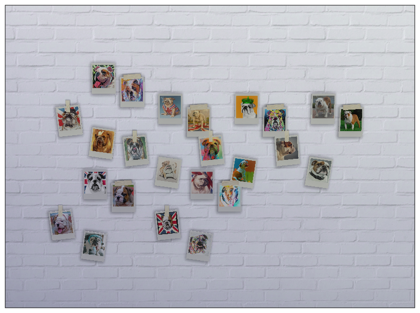 Sims 4 cc wall decor