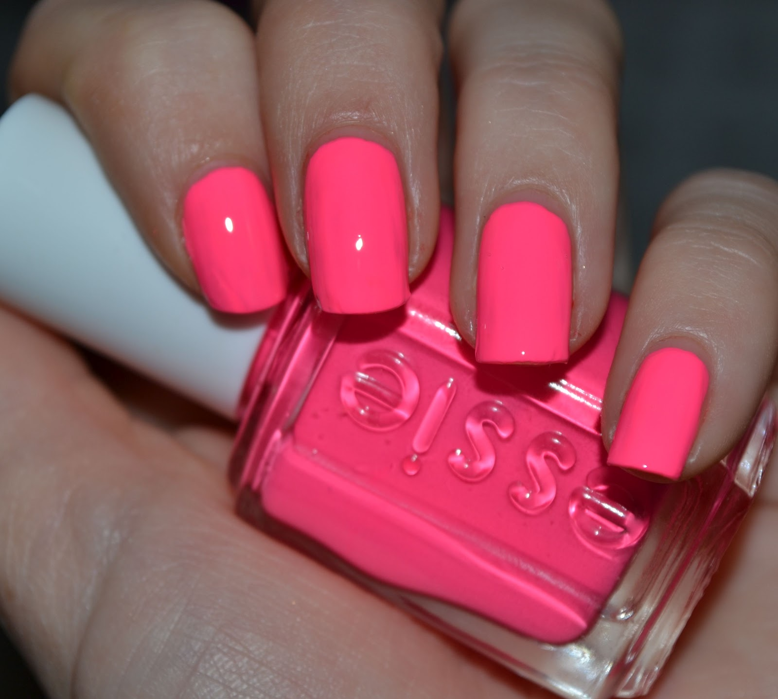 Bright Pink Nail Polish Colors: MakeUpVitamins: Essie Punchy Pink 694 Swatch, Review & Dupes