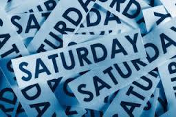 Entry Hari Sabtu Jumaat dan Sabtu