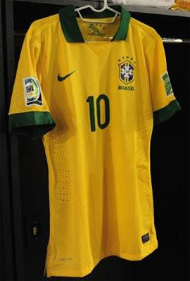 camisa Brasil Neymar numero 10 2013