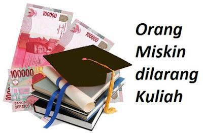 Ketika Kuliah Menjadi Milik Orang Kaya (Fenomena: Biaya Kuliah di ITB Rp 4-10 Juta)