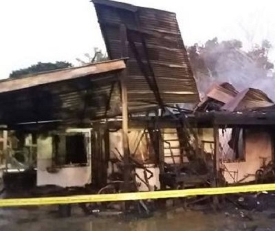 Rumah yang didiami oleh mangsa