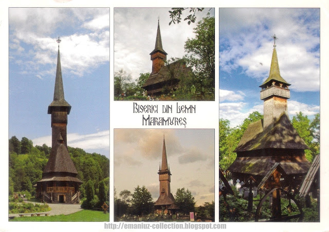 The wooden churches of Bârsana, Desești, Plopiș and Ieud