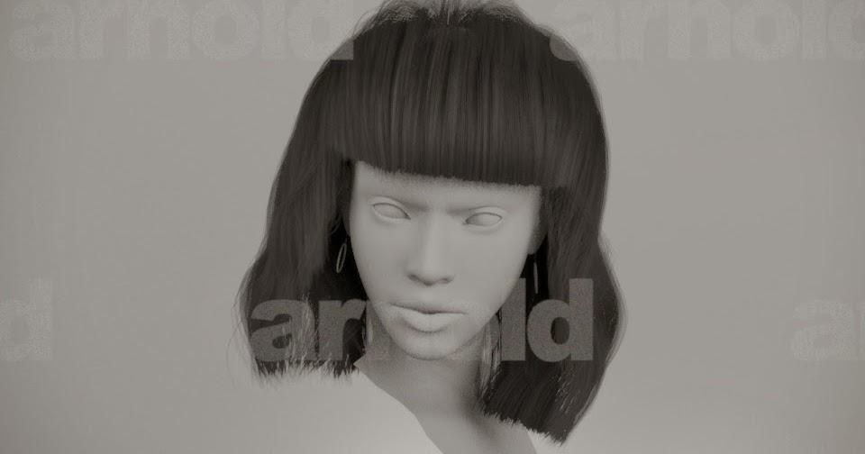 Charming Autodesk View #1: Autodesk-Maya-nHair-styling-simulate-shave-haircut-solving-01+Alireza_Soleimanikhah-Hair-fasion-magazine_Final-render+vfx-3d-cg-tutorial-.jpeg