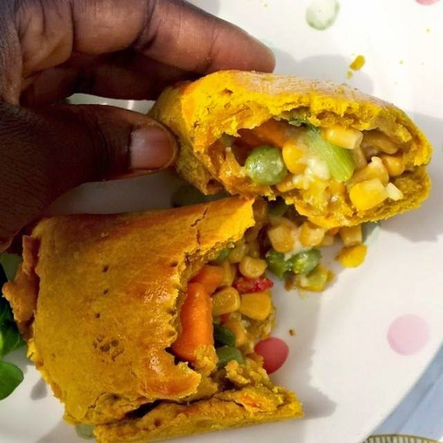 from Food Glorious Food shares with us Easy Jamaican Vegetable Patties ...