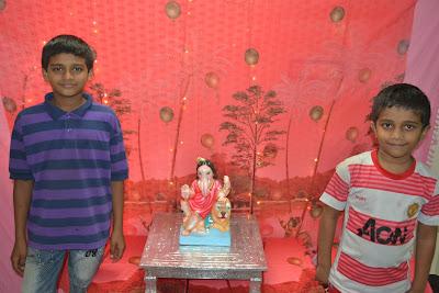 Ganapati Festival At Home