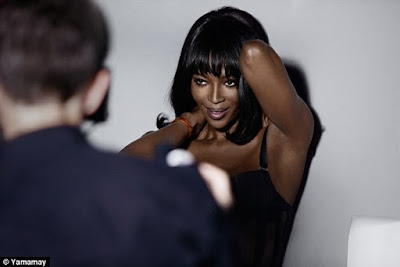 photos of Naomi Campbell launch underwear Range!