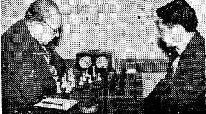 Partida Ribera-Puig en el Campeonato de Ajedrez de Cataluña 1964